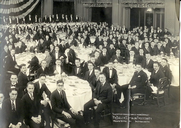 New York - Dec 1920 Banquet_HistorySmall
